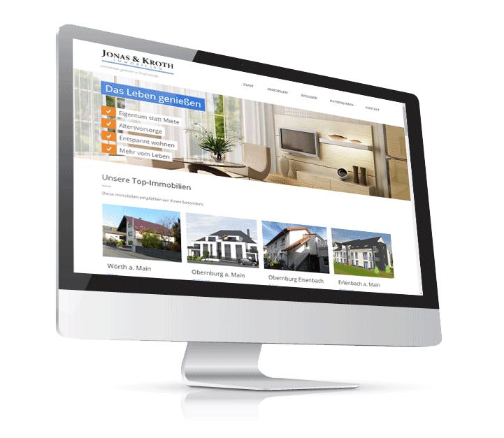 Homepage f r immobilienmakler for Beste immobilienmakler